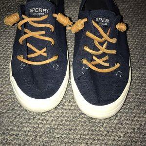 New navy blue sperry's !! (worn maybe twice)